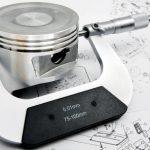 Micrometer will measure dimensions of piston